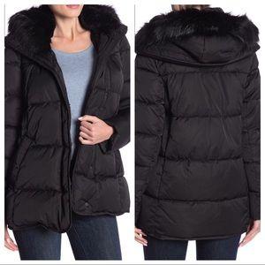 New Tahari Morgan Puffer Coat with Removable Hood